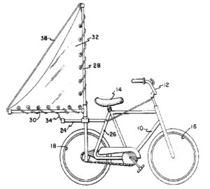 Bicycle sail