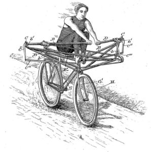 Rowing bicycle